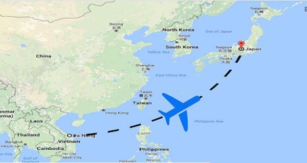 Săn vé máy bay sang Nhật Bản giá rẻ