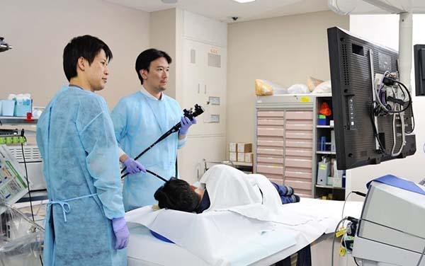 Tầm soát ung thư cho nam tại bệnh viện Nhật Bản