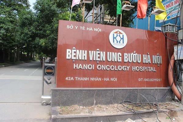 Khám ung thư tại bệnh viện Ung Bướu Hà Nội