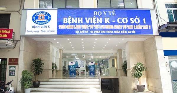 Kiểm tra ung thư phổi tại bệnh viện K Hà Nội