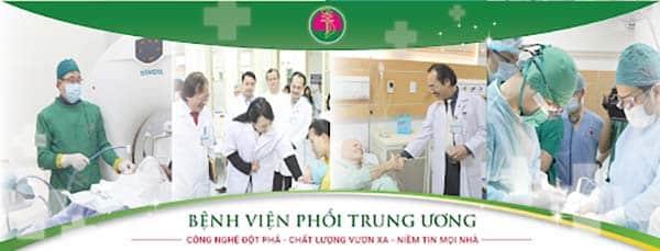 Kiểm tra ung thư phổi tại bệnh viện phổi trung ương