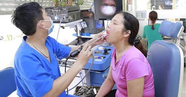 Quy trình khám ung thư vòm họng