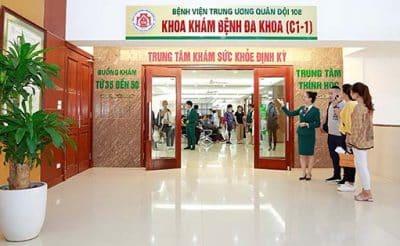 Tầm soát ung thư tại bệnh viện trung ương quân đội 108