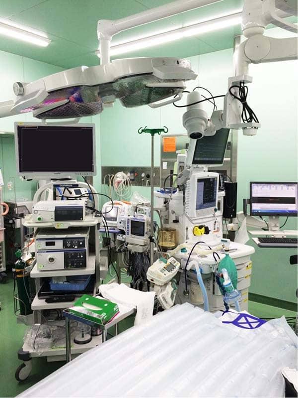 Trang thiết bị của bệnh viện đa khoa Katsushika