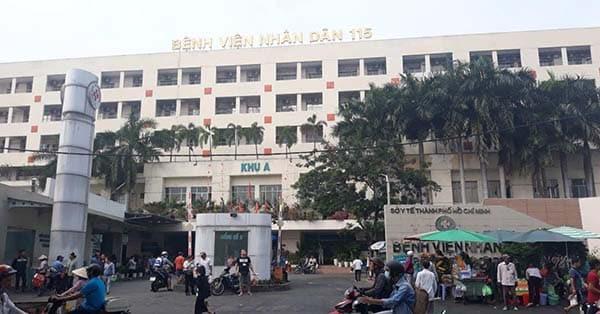 Xét nghiệm ung thư sớm tại bệnh viện nhân dân 115