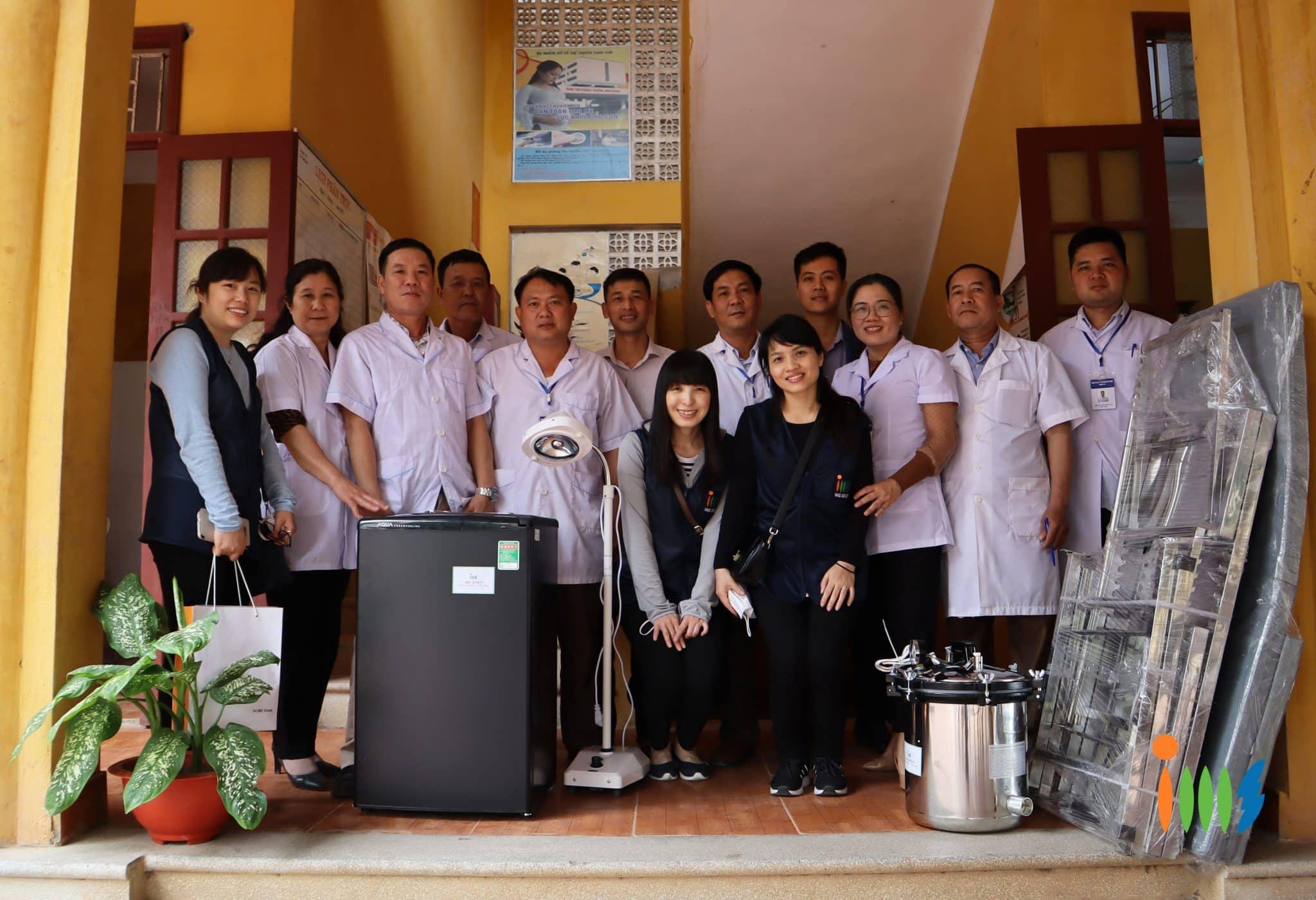 Tập đoàn y tế IMS triển khai dự án hỗ trợ y tế tại xã Tân Sơn, Lục Ngạn, Bắc Giang
