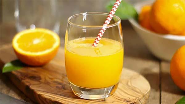 Cần có liều lượng hợp lý khi dùng nước cam